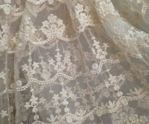 antique, lace, and white image