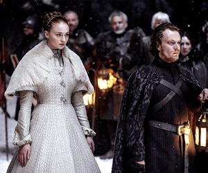 got, game of thrones, and sansa stark image