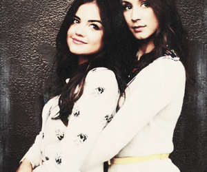 lucy hale, torian bellisario, and sparia image