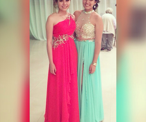 best friends, Prom, and prom dresses image