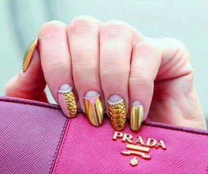 nails, Prada, and fashion image
