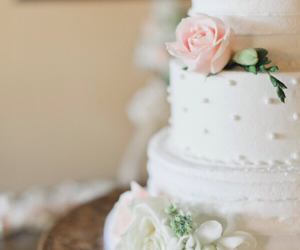 bride, cake, and day image