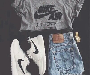 nike, outfit, and shoes image