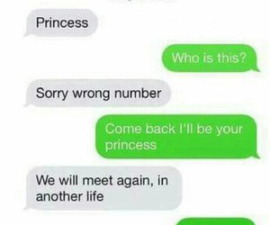 princess, love, and text image
