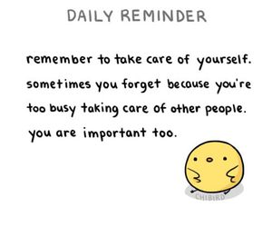 reminder, quotes, and care image