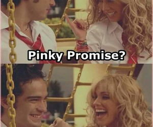 pinkypromise, rebelde, and miaymiguel image