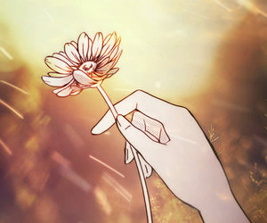 Dream, flower, and summer image