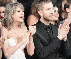 Taylor Swift, calvin harris, and couple image