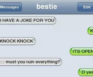 chat and joke image