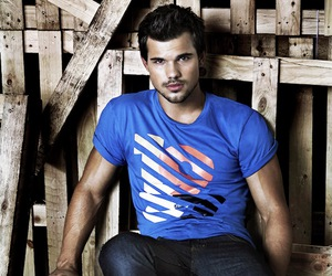 Taylor Lautner and boy image