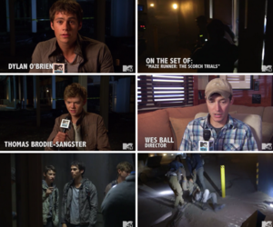movie, thomas sangster, and wes ball image