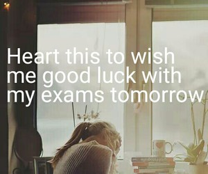 exam and good luck image