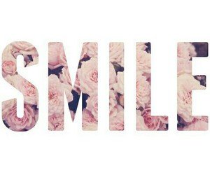 smile, flowers, and happy image