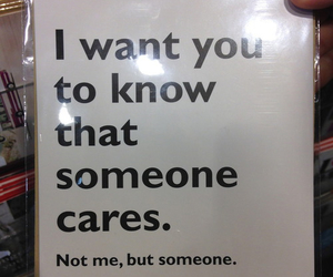 care, quotes, and funny image
