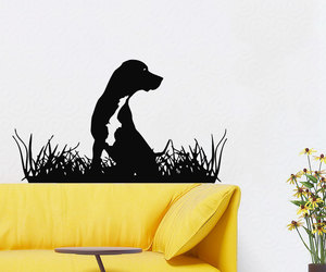 cute puppy, grooming salon, and home decor image