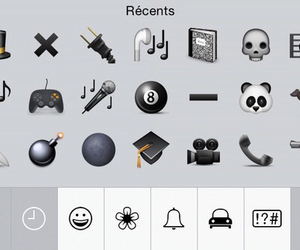 grunge, black, and emoji image