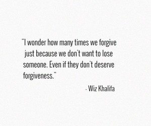forgiveness, heartbreak, and true image