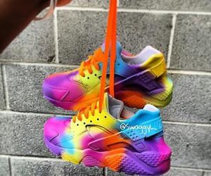 nike and rainbow image