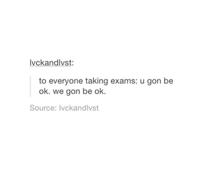 college, exams, and finals image