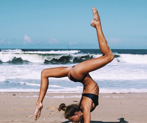 fitness, summer, and beach image