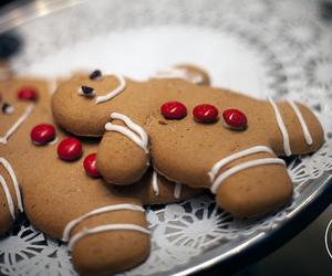 cookie, ginger, and gingerbread image