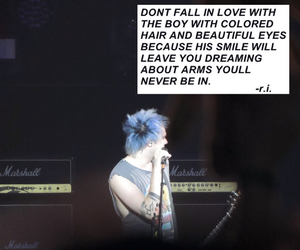 poem, 5sos, and michael clifford image
