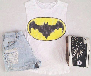 batman, fashion, and converse image