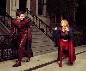 Supergirl, the flash, and melissa benoist image