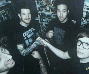 fall out boy, FOB, and patrick stump image