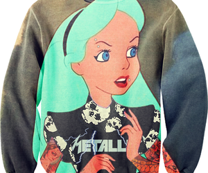 alice in wonderland and sweater image