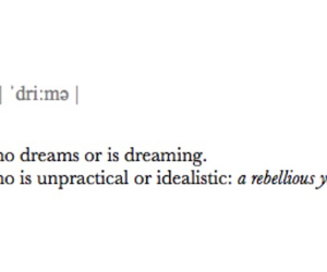 definition, dreamer, and life image