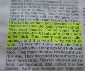 beauty, bible, and god image