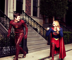 Supergirl, the flash, and melissa benoist image
