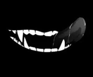 dark and vampire image