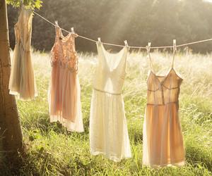 dress, summer, and sun image