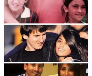 messi, love, and childhood image
