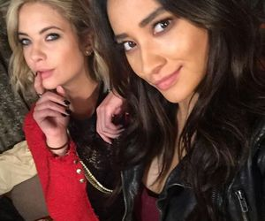 pretty little liars, ashley benson, and shay mitchell image