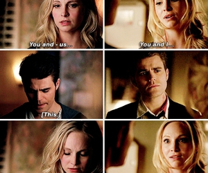 the vampire diaries, paul wesley, and candice accola image