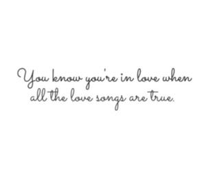 crush, love song, and quote image