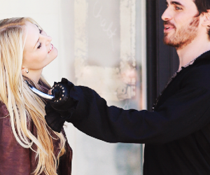 Jennifer Morrison, killian, and captain swan image