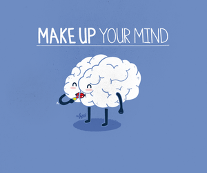 mind, funny, and make up image