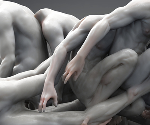 art, guy, and man image