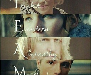 trinket, peeta, and mellark image