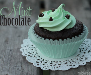 mint, buttercream, and chocolate image