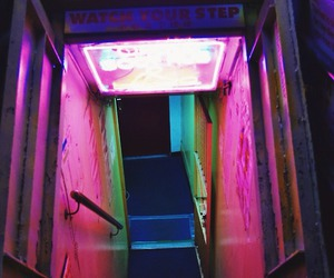 neon, pink, and aesthetic image