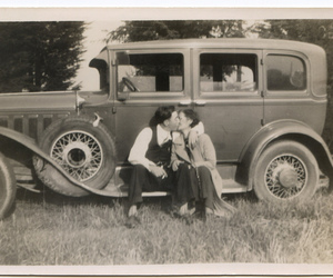 bonnie and clyde, bonnie parker, and car image