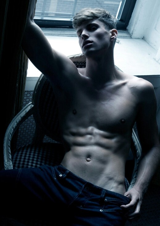 barrett pall, abs, and blonde image