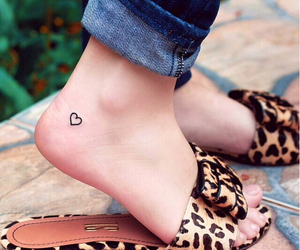 heart, tattoo, and look image