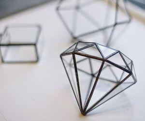 diamond, tumblr, and white image