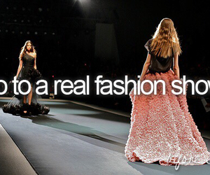 before i die and fashion show image